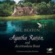 M. C. Beaton: Agatha Raisin und die ertrunkene Braut, 4 CDs
