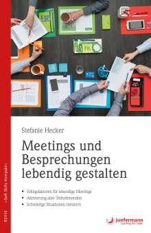 Stefanie Hecker: Meetings und Besprechungen lebendig gestalten, Buch
