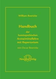 Oscar Boericke: Handbuch der homöopathischen Arzneimittellehre mit Repertorium, Buch