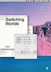 Alexander Schubert: Switching Worlds, Buch