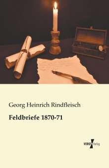 Georg Heinrich Rindfleisch: Feldbriefe 1870-71, Buch