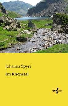Johanna Spyri: Im Rhônetal, Buch
