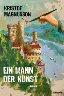 Kristof Magnusson: Ein Mann der Kunst, Buch
