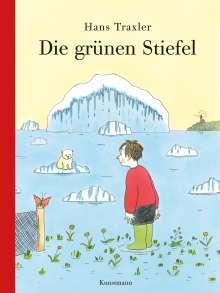 Hans Georg Traxler: Die grünen Stiefel, Buch