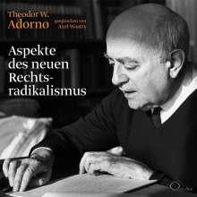Theodor W. Adorno: Aspekte des neuen Rechtsradikalismus, 2 CDs