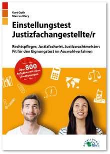 Kurt Guth: Einstellungstest Justizfachangestellter, Buch