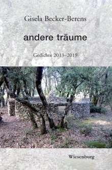 Gisela Becker-Berens: andere träume, Buch