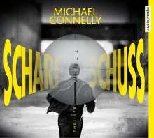 Michael Connelly: Scharfschuss, 6 CDs