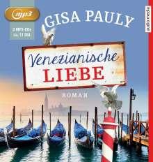 Gisa Pauly: Venezianische Liebe, MP3-CD