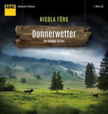 Nicola Förg: Donnerwetter, MP3-CD