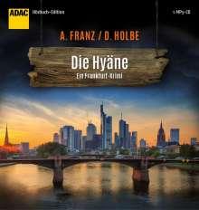 Andreas Franz: Die Hyäne, MP3-CD