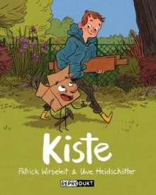 Patrick Wirbeleit: Kiste, Buch