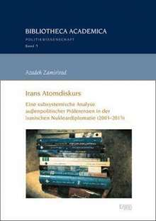 Azadeh Zamirirad: Irans Atomdiskurs, Buch