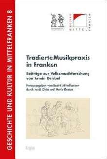 Tradierte Musikpraxis in Franken, Buch
