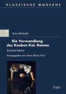 Die Verwandlung des Knaben Kai. Roman, Buch