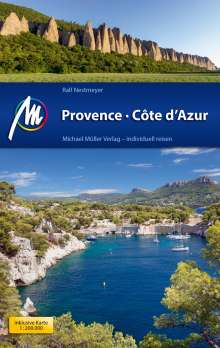 Ralf Nestmeyer: Provence & Côte d'Azur Reiseführer Michael Müller Verlag, Buch