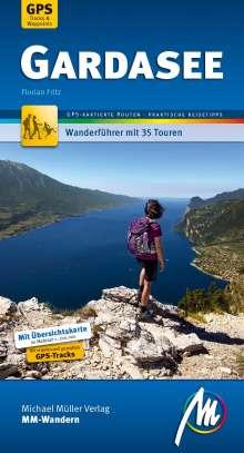 Florian Fritz: Gardasee MM-Wandern Wanderführer Michael Müller Verlag, Buch
