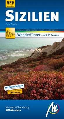 Peter Amann: Sizilien MM-Wandern Wanderführer Michael Müller Verlag, Buch
