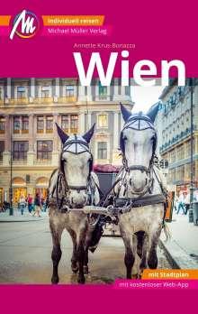 Annette Krus-Bonazza: Wien MM-City Reiseführer Michael Müller Verlag, Buch