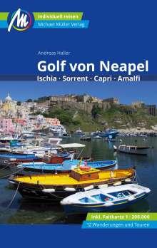 Andreas Haller: Golf von Neapel Reiseführer Michael Müller Verlag, Buch