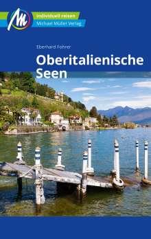 Eberhard Fohrer: Oberitalienische Seen Reiseführer Michael Müller Verlag, Buch
