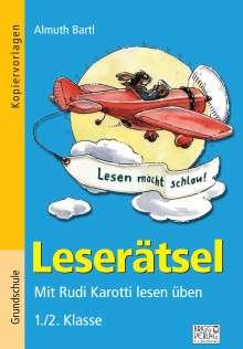 Almuth Bartl: Leserätsel 1./2. Klasse, Buch