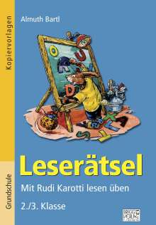 Almuth Bartl: Leserätsel 2./3. Klasse, Buch