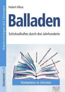 Hubert Albus: Balladen, Buch