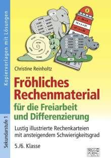Christine Reinholtz: Fröhliches Rechenmaterial für die Freiarbeit und Differenzierung, Buch