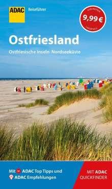 Andrea Lammert: ADAC Reiseführer Ostfriesland / Ostfriesische Inseln u.Nordseeküste, Buch