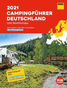 ADAC Camping-Führer Deutschland/Nordeuropa 2021, Buch