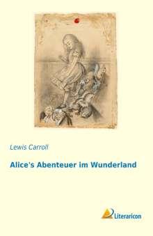 Lewis Carroll: Alice's Abenteuer im Wunderland, Buch