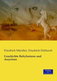 Friedrich Mürdter: Geschichte Babyloniens und Assyriens, Buch