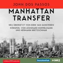 John Dos Passos: Manhattan Transfer, 6 CDs