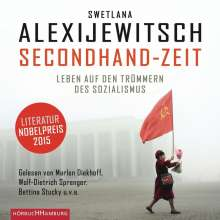 Swetlana Alexijewitsch (geb. 1948): Secondhand-Zeit, 8 CDs