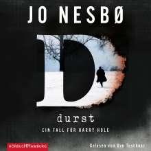 Jo Nesbø: Durst, 9 CDs