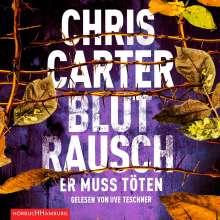 Chris Carter: Blutrausch - Er muss töten, 2 CDs