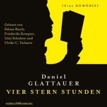 Daniel Glattauer: Vier Stern Stunden, 2 CDs