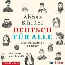 Abbas Khider: Deutsch für alle, 2 CDs