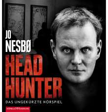 Jo Nesbø: Headhunter, 2 MP3-CDs