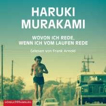 Haruki Murakami: Wovon ich rede, wenn ich vom Laufen rede, MP3-CD