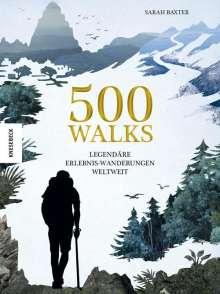 Sarah Baxter: 500 Walks, Buch