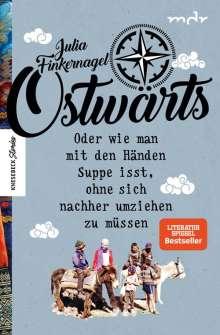 Julia Finkernagel: Ostwärts, Buch