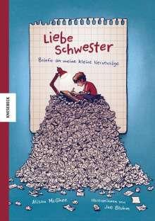 Alison McGhee: Liebe Schwester, Buch