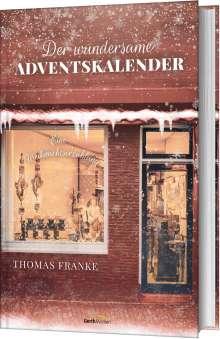 Thomas Franke: Der wundersame Adventskalender, Buch