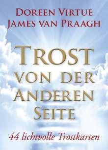 Doreen Virtue: Trost von der Anderen Seite - Orakelset, Buch