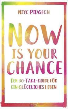 Niyc Pidgeon: Now Is Your Chance, Buch