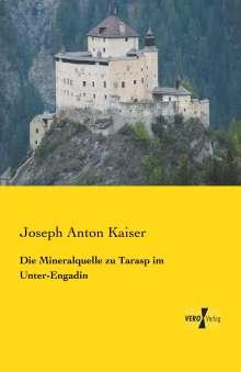 Joseph Anton Kaiser: Die Mineralquelle zu Tarasp im Unter-Engadin, Buch