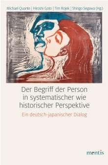 Der Begriff der Person in systematischer wie historischer Perspektive, Buch
