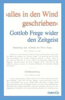 Matthias Wille: >alles in den Wind geschrieben<, Buch